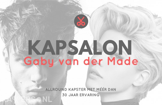 Kapsalon Gaby van der Made